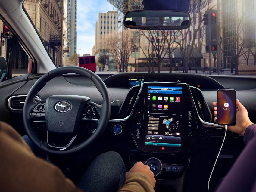 2020 Toyota Prius Adds Standard Apple CarPlay® | Toronto, ON